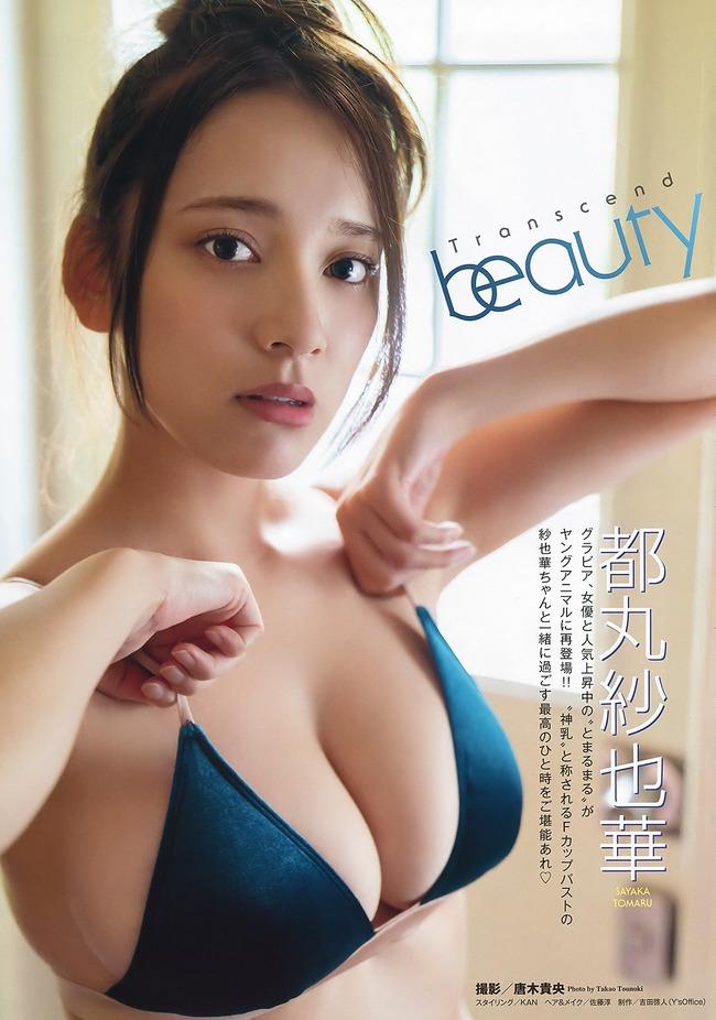 都丸紗也華 Fカップ グラビア画像 (37)