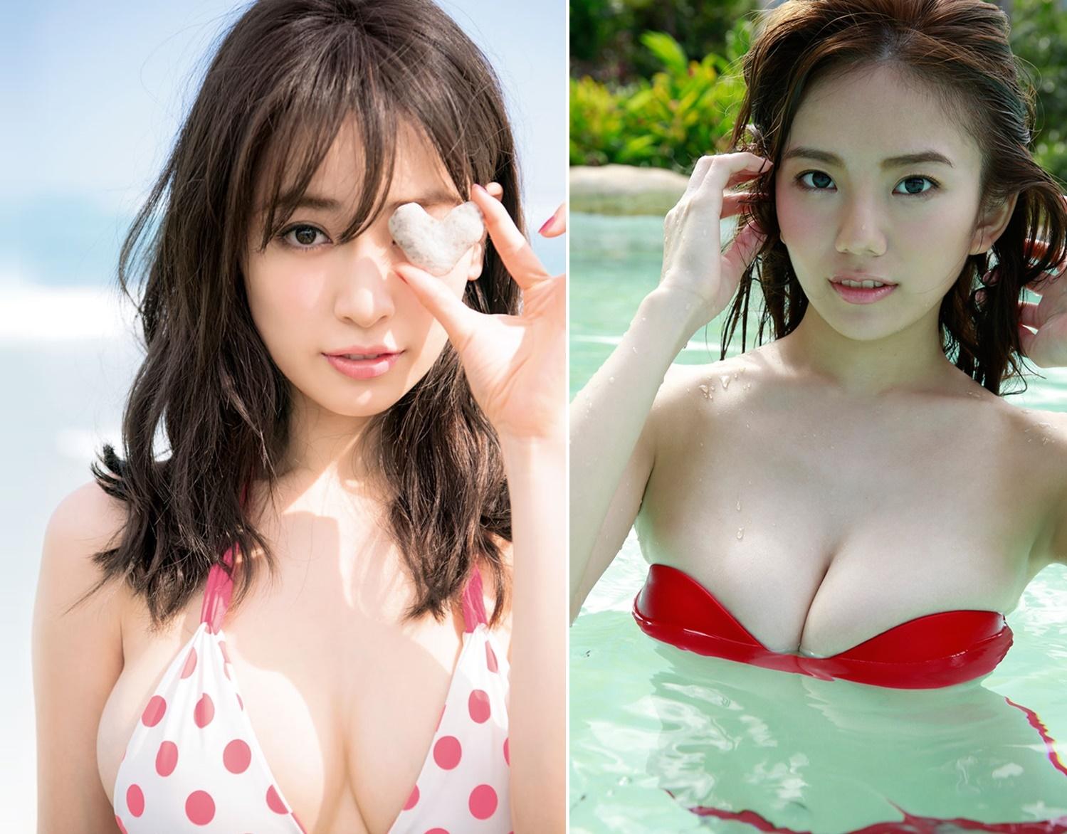 2大美人巨乳って言ったら今はこの二人になると思うんだけどどう?(*´▽`*)ww×66P 表紙