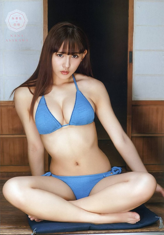 Eカップの美乳!!浅川梨奈のカラダが最高すぎてやばい(*´▽`*)ww×32P