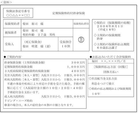 FP3級実技試験 平成26年5月問7 解答
