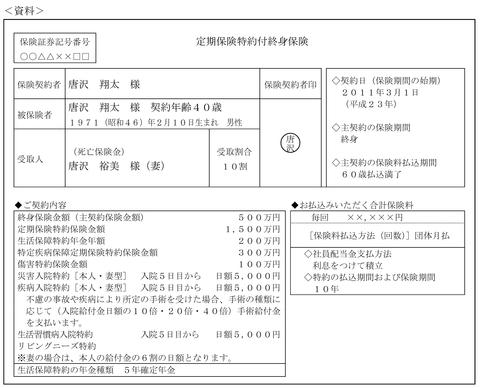 平成24年1月実技問8