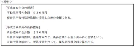 FP3級実技 平成26年9月問13-1