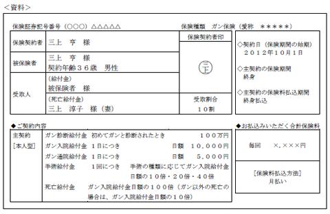 FP3級実技 平成26年9月問8