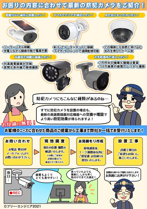防犯カメラ(個人宅用)ウラ2