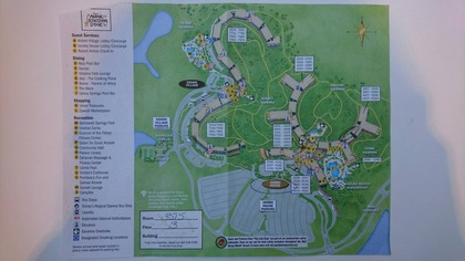 ORL HOTEL MAP
