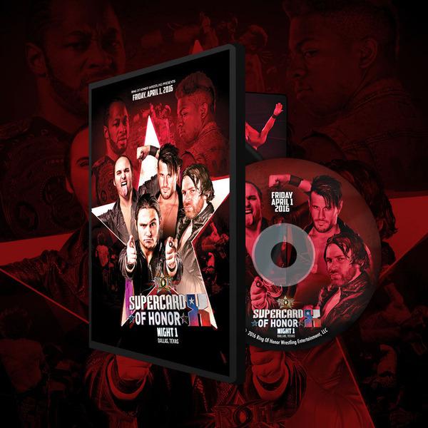 ROH DVD��Supercard Of Honor X Night1�ס�2016ǯ4��1��ƥ����������饹 ��å���ޥ˥��ˡڥ�Хå��� �� �⡼�������ƥ��ޥ���