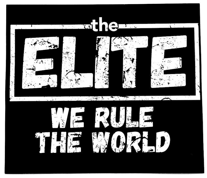 The ELITE(ケニー・オメガ&ヤングバックス)「エリート ロゴ ステッカー」発売中