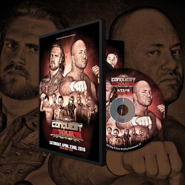 ROH DVD��Conquest Tour 2016 - SAN ANTONIO�ס�2016ǯ4��23��ƥ�����������ȥ˥��� �ڥϥޥڡ��� �� BJ�����åȥޡ��ʥ��ȥ�ȥե�������ˡ�