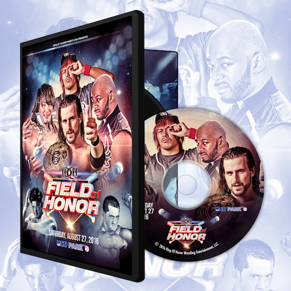 ROH DVD「Field Of Honor」(2016年8月27日ブルックリン) 【アダム・コール 対 ジェイ・リーサル 対 棚橋弘至 対 内藤哲也】