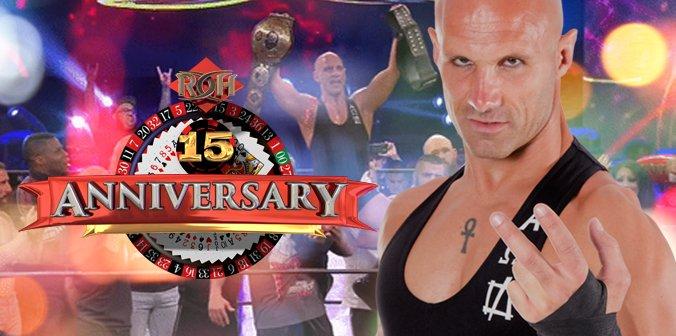 クリストファー・ダニエルズが新ROH世界王者に!【ROH15周年記念大会 ラスベガス】