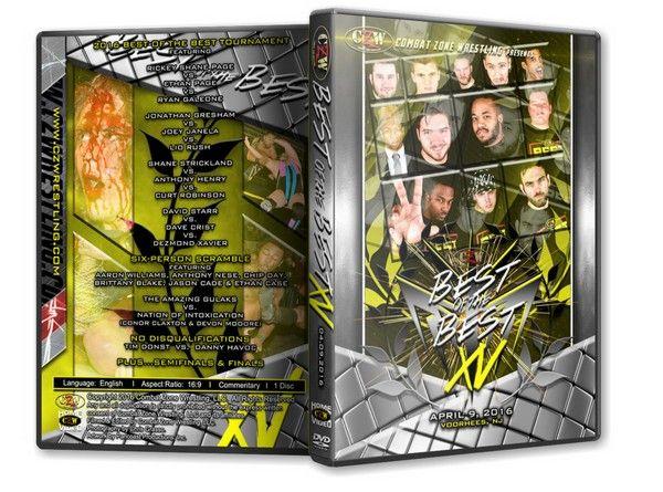 �ڤ���ʸ�������CZW DVD��Best Of The Best 15�ס�2016ǯ4��9��˥塼���㡼������