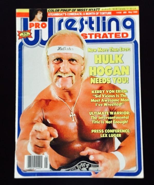 「Pro Wrestling Illustrated プロ・レスリング・イラストレイテッド」1989年5月号