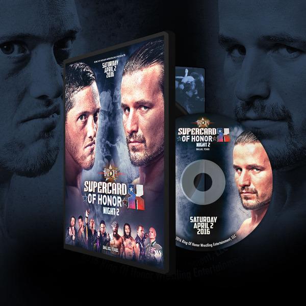 ROH DVD��Supercard Of Honor X Night2�ס�2016ǯ4��2��ƥ����������饹 ��å���ޥ˥��ˡڥ����ࡦ������ �� �����롦���饤���