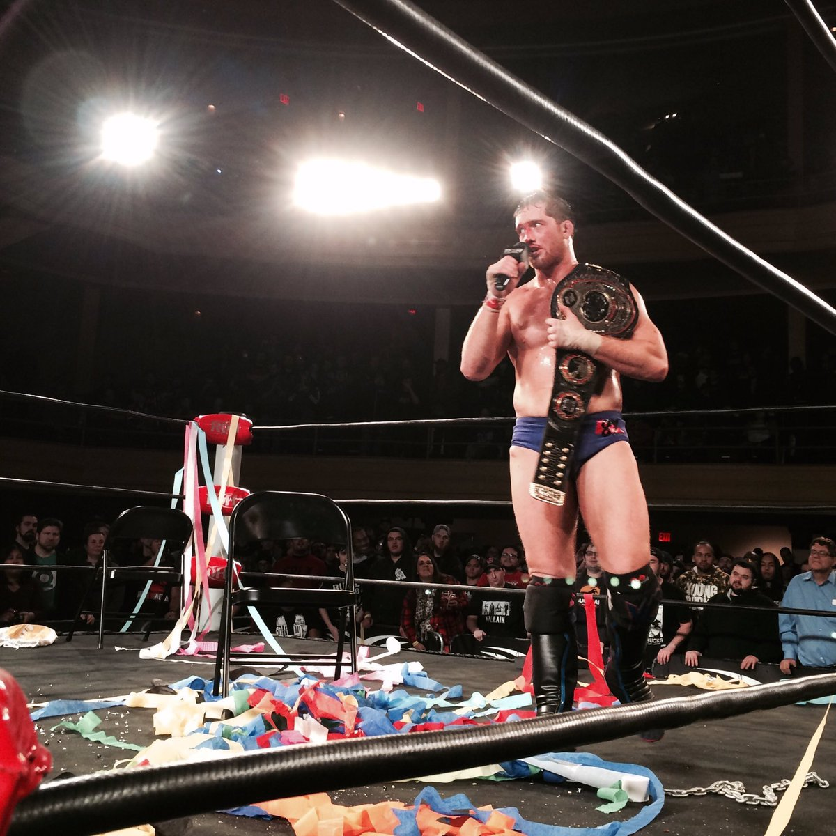 【速報】ROH世界王者交代!新王者はカイル・オライリー ROH12・2ニューヨーク大会「ファイナル・バトル2016」