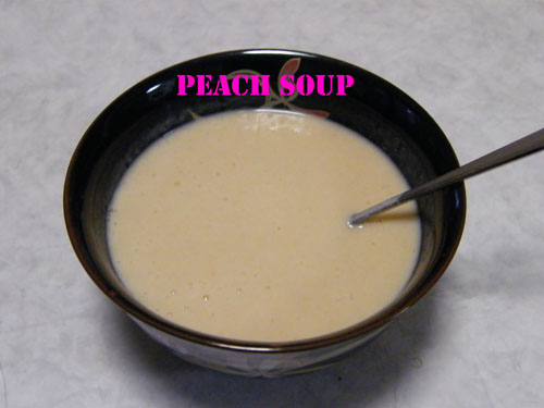 ピーチスープ