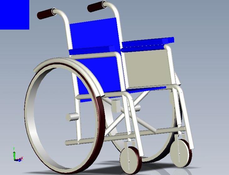 wheelchair flame