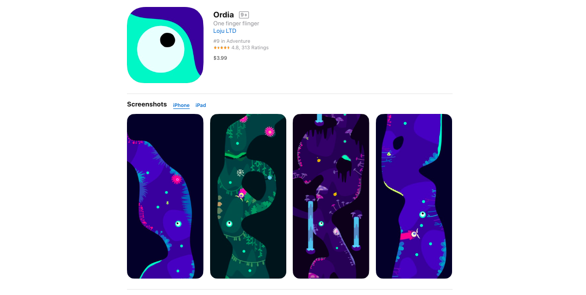 Apple Design Awards 2019_Ordia