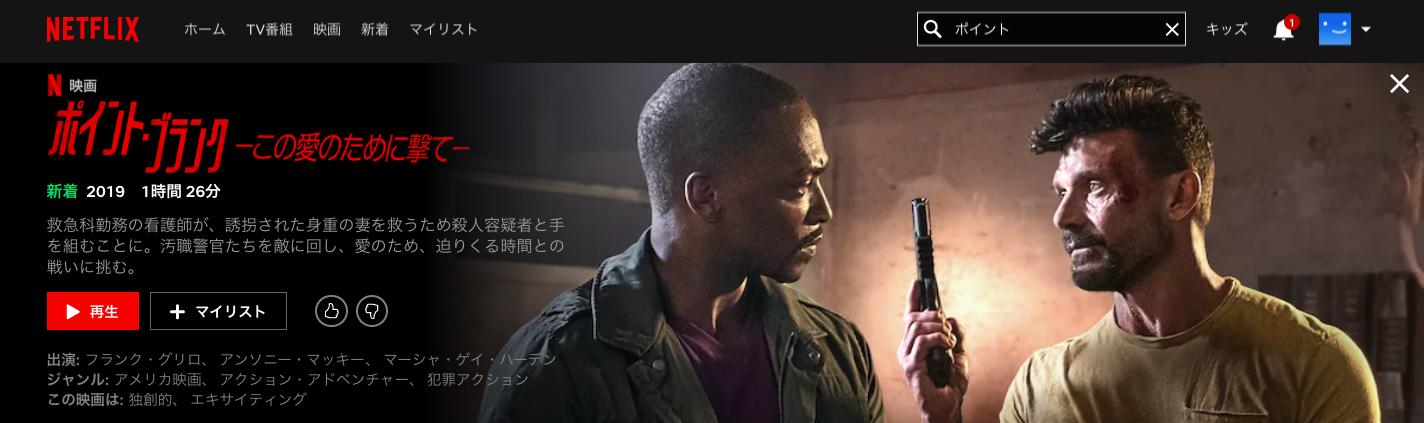 Netflix_ポイント・ブランク_この愛のために撃てのキャスト