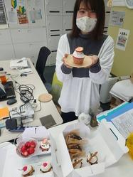 3月生まれのケーキ