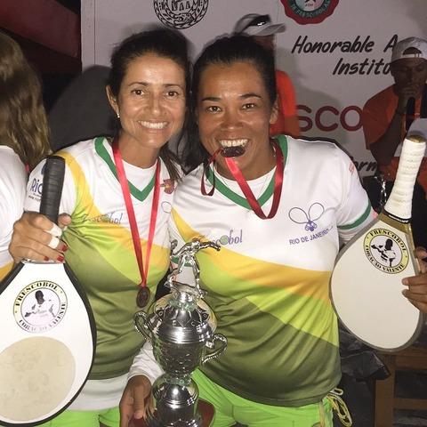 フレスコボールワールドカップ メキシコ大会 結果一覧 -女子ペアの部・男女混合ペアの部-