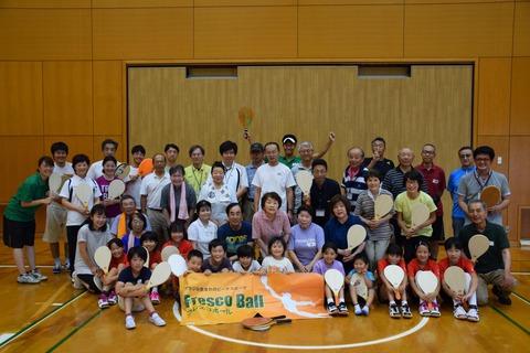 【体験会レポート】子供から大人まで夢中になれる! エンジョイ、日本代表選手とフレスコボール @千葉県市原市