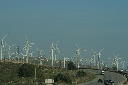 風力発電?