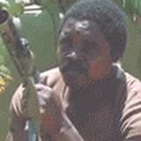 GIF:マシンガンをバババババと打っていたら [爆笑]