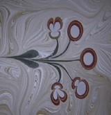 動画:水面に色のついた水滴を垂らして描くアート [感動]