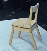 動画:自己修復&破壊機能付き椅子 [感動]