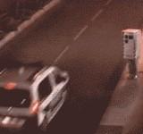 GIF:自動車のスピード取り締まり機・・・? [おもしろ]