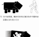 画像:カバの倒し方 [おもしろ]