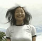 GIF:体育着でおっぱいが揺れまくる [エロ]