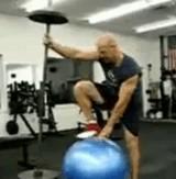 動画:ウェイトリフティング&エクササイズボール [神]