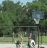 動画:バスケット -トリックショット- [おもしろ]
