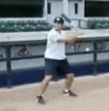 動画:野球 -大回転スイング2- [神]
