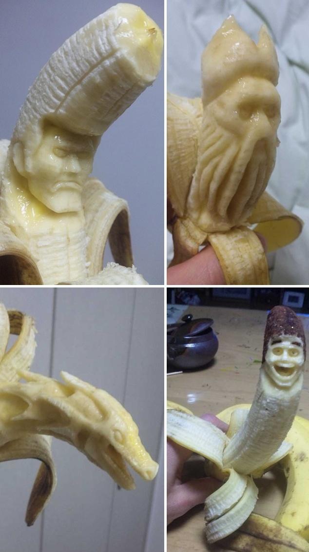画像:バナナアート [感動]