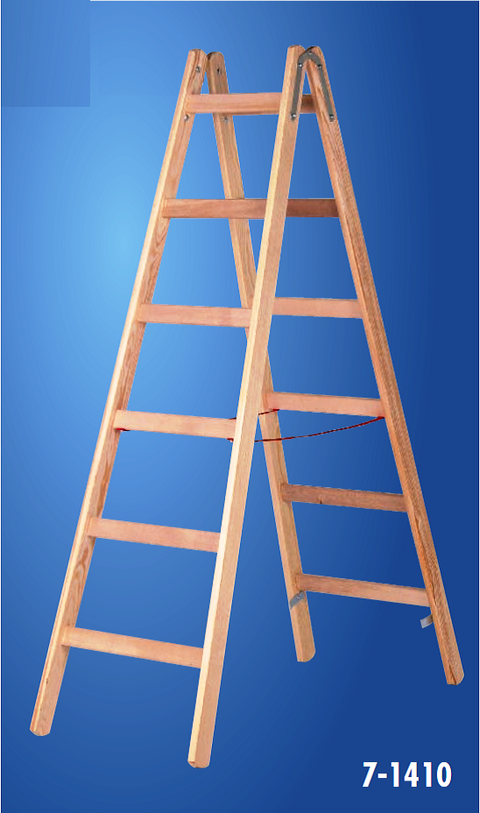 hymer_7141_wooden_freestanding_double-sided_rung_ladder