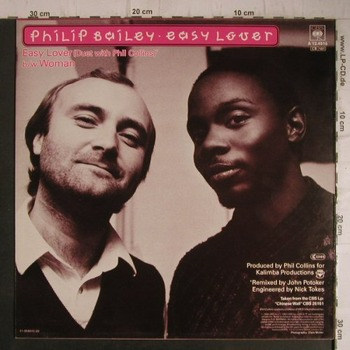 Philip Bailey&Phil Collins「Easy Lover」MV(1984)