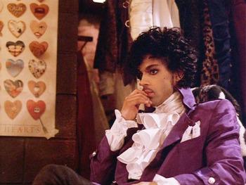 Princeが紫色の小さな巨人だったこと。。「Purple Rain」Live