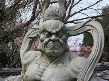 興禅寺仁王吽形像