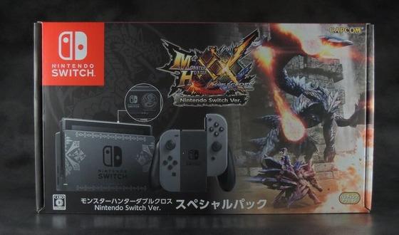 【モンハンXX】Nintendo SwitchのMHXXスペシャルパックが届いた!紋章が良い感じですw
