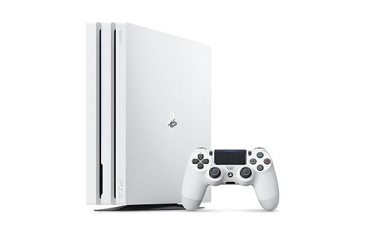 白色のPS4 Proが2018年3月8日に発売!