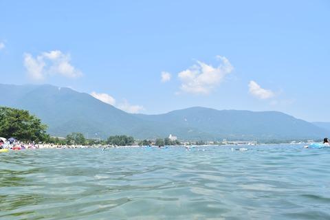 琵琶湖 風景 夏 水