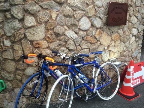 奈良 サイクリング パン屋 キャピタル capital 自転車 駐輪
