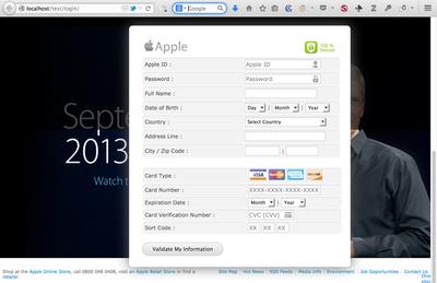 apple phishing kit
