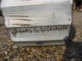 plants*kitchenのロゴが入ってますっ♪