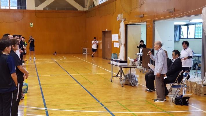 1D挨拶いわきバレーボール連盟鈴木敏雄