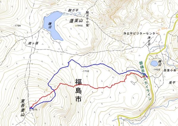 東吾妻山24