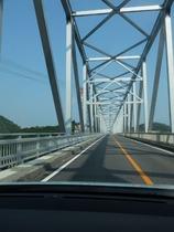 天門橋を渡って三角へ